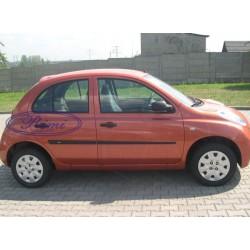 Bandouri laterale Nissan Micra K12 cu 5 usi 2003-2010 (F14)