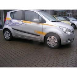 Bandouri laterale Opel Agila B (F22)