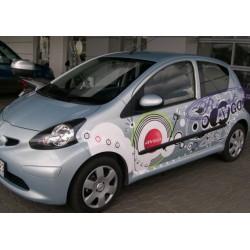 Bandouri laterale Toyota Aygo 5usi (F2)