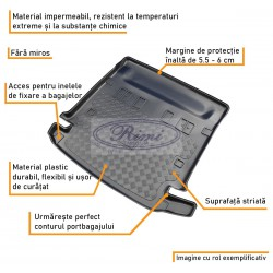 Tavita portbagaj Peugeot 107 Basic