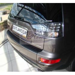 Protectie prag incarcare portbagaj Mitsubishi Outlander 2, 2007-2012