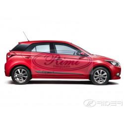 Bandouri laterale Hyundai i20 II cu 5 usi 12.2014- (F51)