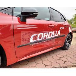 Bandouri laterale Toyota Corolla XII E210 hatchback (F16/14)
